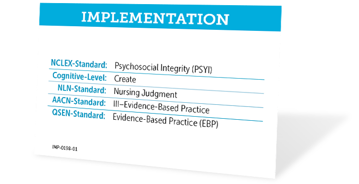 Implementation Card