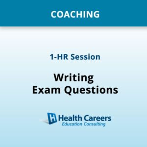 Coaching - 1 HR Individual Session - Nursing Exam Writing